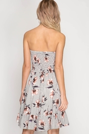 She + Sky Strapless Floral Dress - Other