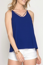 She + Sky Strappy Cami Top - Product Mini Image