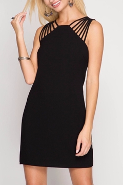 Shoptiques Product: Strappy Shoulder Sheath Dress