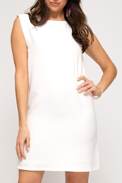 She + Sky Strong Shoulder Dress - Product List Image
