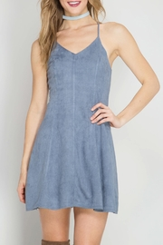 She + Sky Flare Blue Dress - Product Mini Image