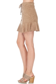 She + Sky Suede Laceup Skirt - Other