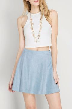 Shoptiques Product: Suede Mini Skirt