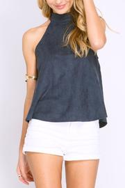 She + Sky Suede Swing Tank - Product Mini Image