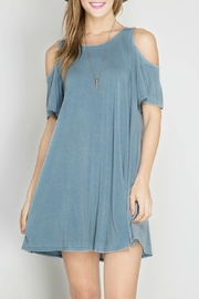 She + Sky Summer Shift Dress - Front cropped