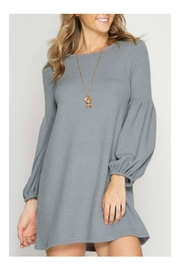 She + Sky Sweater Dress - Product Mini Image