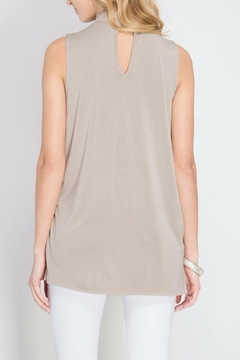 She + Sky Taupe Choker Top - Alternate List Image