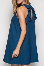 She + Sky Teal Swing Dress - Front cropped