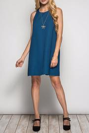 She + Sky Teal Swing Dress - Product Mini Image