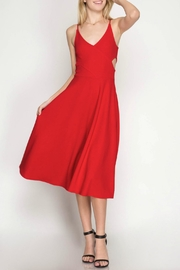She + Sky Textured Midi Dress - Product Mini Image