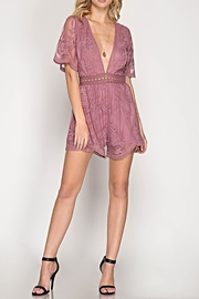 She + Sky The Bethany Romper - Back cropped