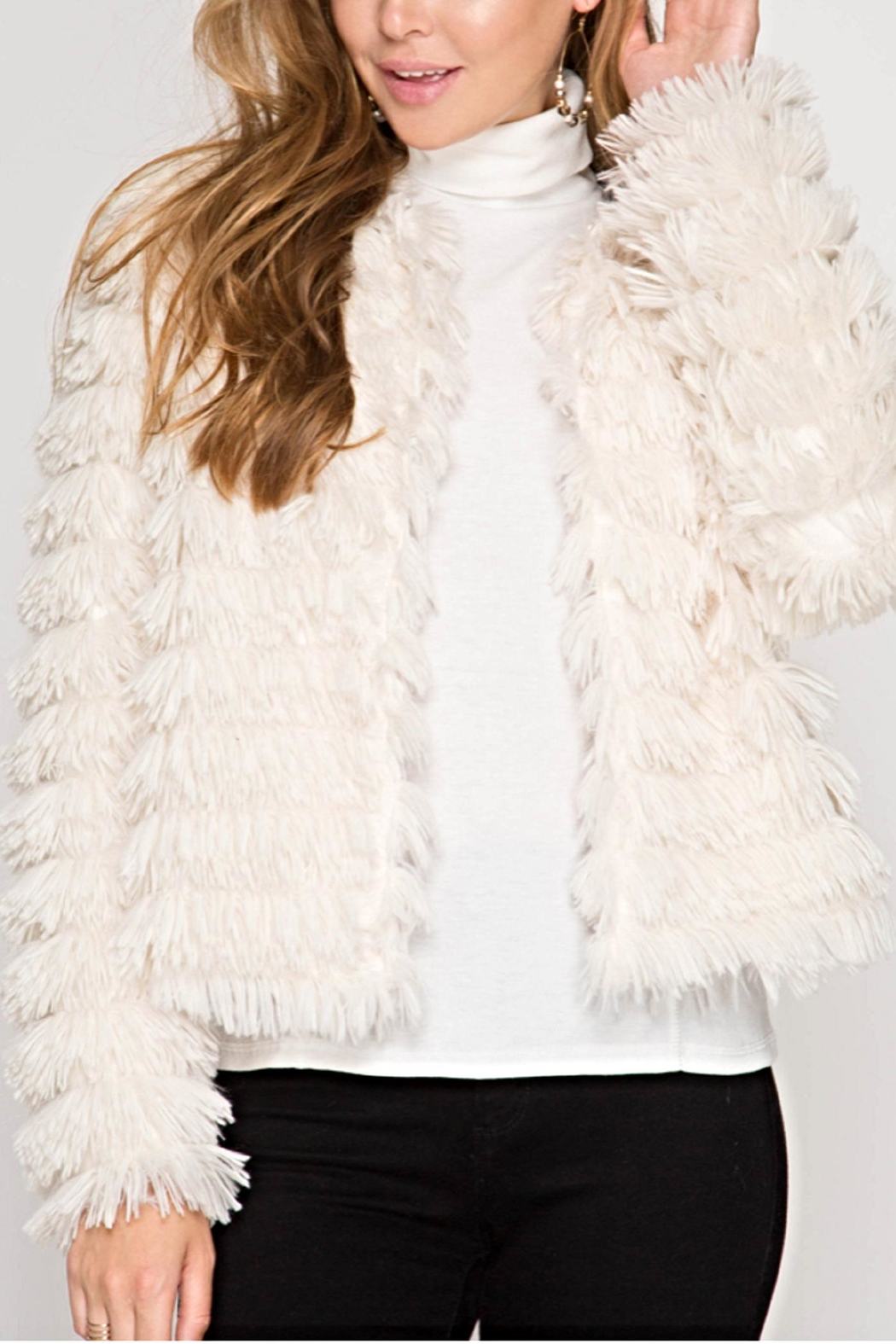 She + Sky The Danielle Jacket - Front Cropped Image