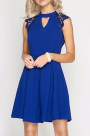 She + Sky The Monica Dress - Front cropped
