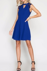 She + Sky The Monica Dress - Back cropped