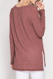 She + Sky Thermal Top - Side cropped