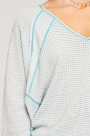 She + Sky Thermal V-Neck Top - Other