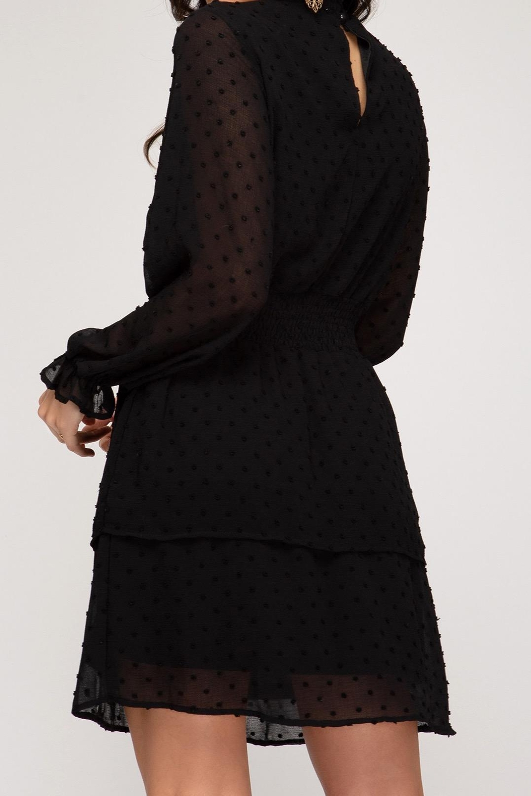 She + Sky Tiered Lbd - Front Full Image