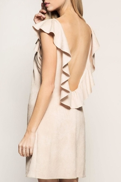 Shoptiques Product: Beige Open Back Dress