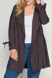 She + Sky Trench Coat - Product Mini Image