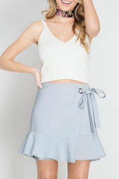 Shoptiques Product: Trumpet Wrap Skirt