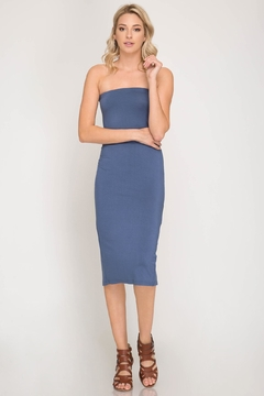 She + Sky Tube Midi Dress - Product List Image