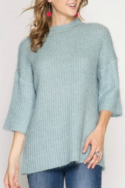 She + Sky Stacey Tunic Sweater - Front cropped