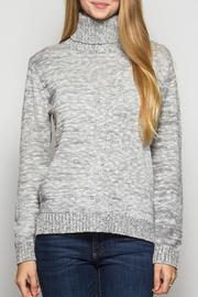 She + Sky Turtleneck Elbow Patch - Product Mini Image