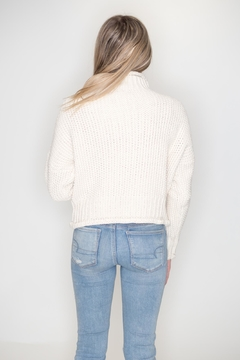 She + Sky Turtleneck Sweater - Alternate List Image