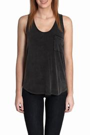 She + Sky Twist Back Tank - Product Mini Image