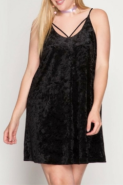 She + Sky Velvet Swing Dress - Product List Image