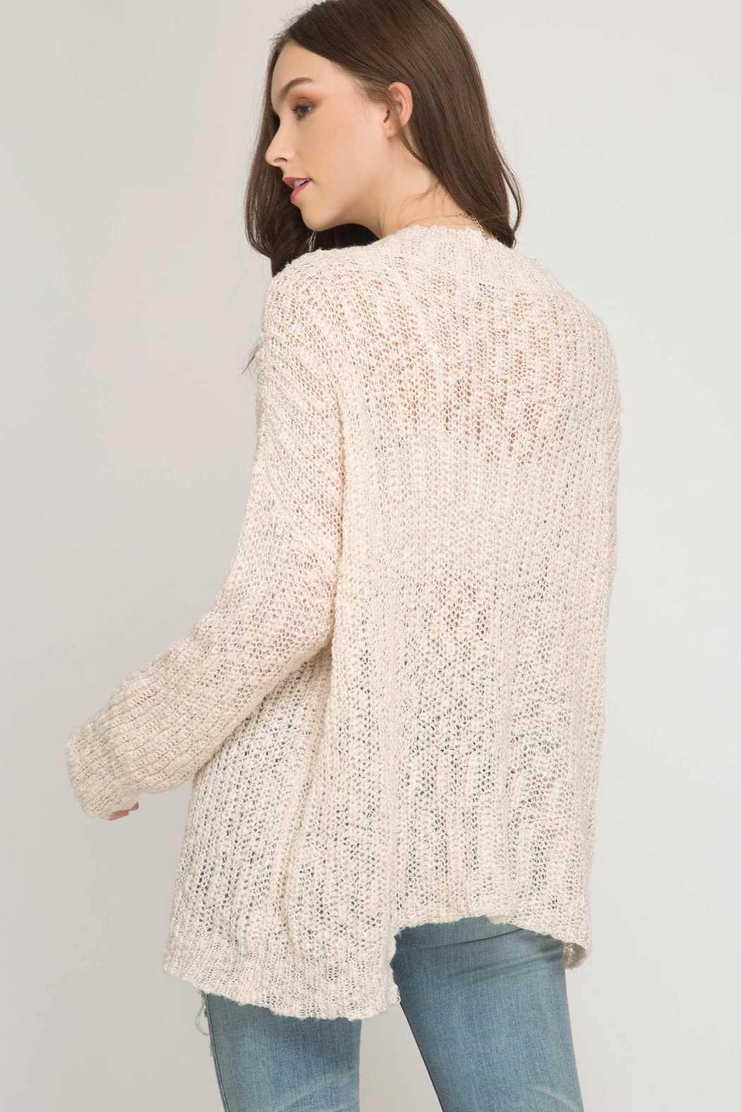 She + Sky Very Merry Sweater - Front Full Image