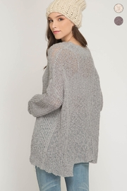 She + Sky Very Merry Sweater - Back cropped