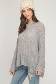 She + Sky Very Merry Sweater - Side cropped
