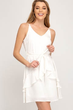 She + Sky Waist Sash Dress - Product List Image