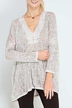 Shoptiques Product: Washed Vneck Tunic