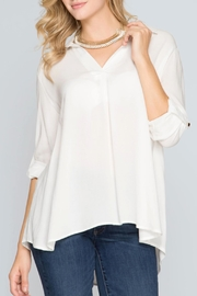 She + Sky Weekender Blouse - Product Mini Image