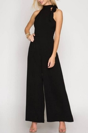 She + Sky Wide-Leg Jumpsuit - Front cropped