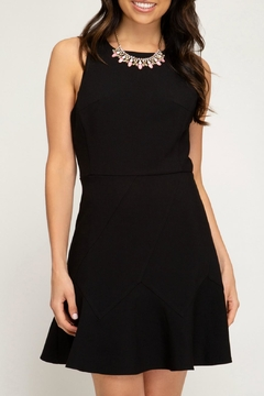 She + Sky Woven Fit/flare Dress - Product List Image