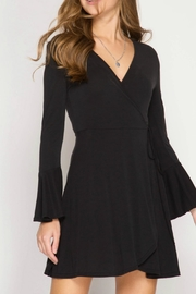 She + Sky Calla Wrap Dress - Product Mini Image