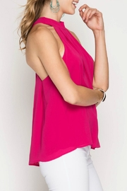 She + Sky X-Back Tank - Side cropped