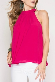 She + Sky X-Back Tank - Front full body