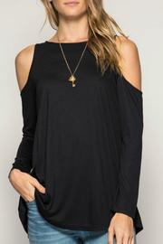 She + Sky Cold Shoulder Basic Tunic - Product Mini Image