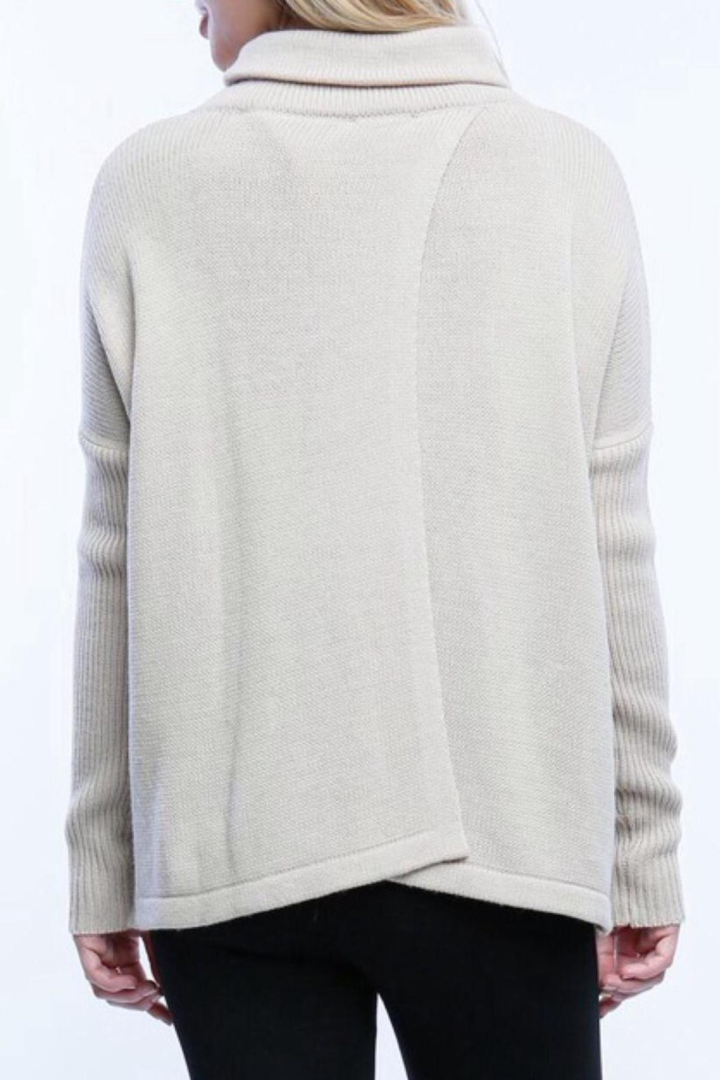 Timing Crossbody Sweater - Side Cropped Image