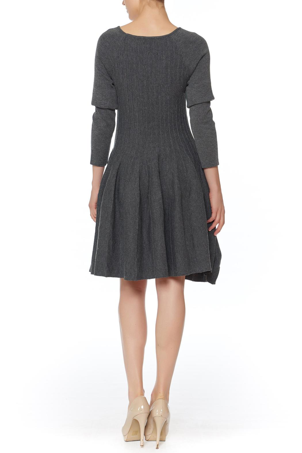 She + Sky Fit And Flare Dress - Front Full Image