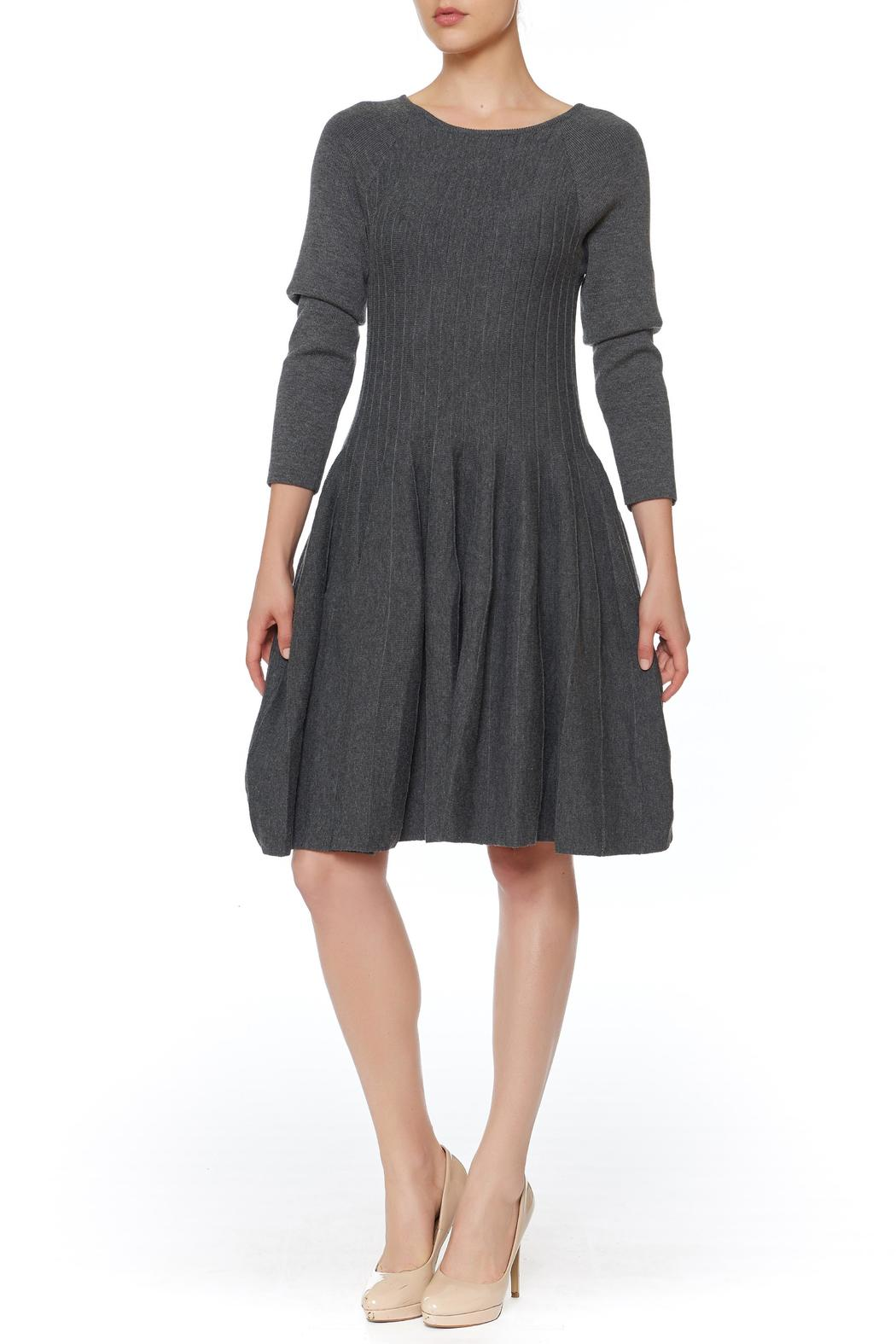 She + Sky Fit And Flare Dress - Front Cropped Image
