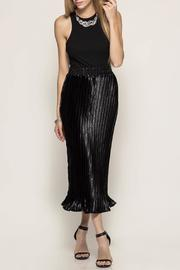 She + Sky Pleated Midi Skirt - Product Mini Image