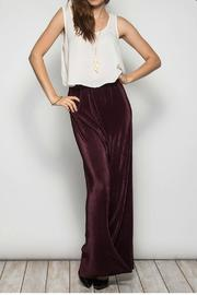 She + Sky Pleated Plum Pants - Product Mini Image