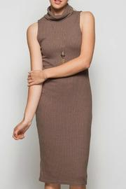 She + Sky Sleeveless Turtleneck Dress - Product Mini Image