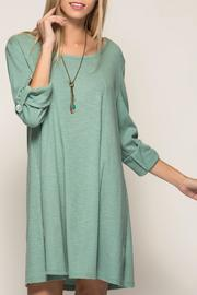 She + Sky Soft Tabbed Dress - Front cropped