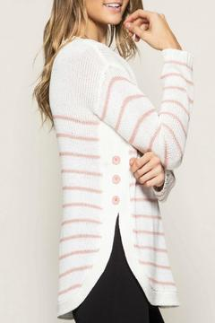 Shoptiques Product: Striped Sweater Top